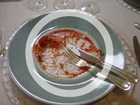 終わり 食べ テーブル マナー